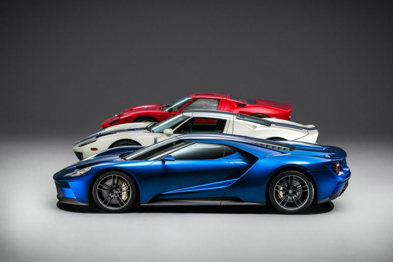All-New Ford GT Heritage--1st, 2nd, 3rd Generation