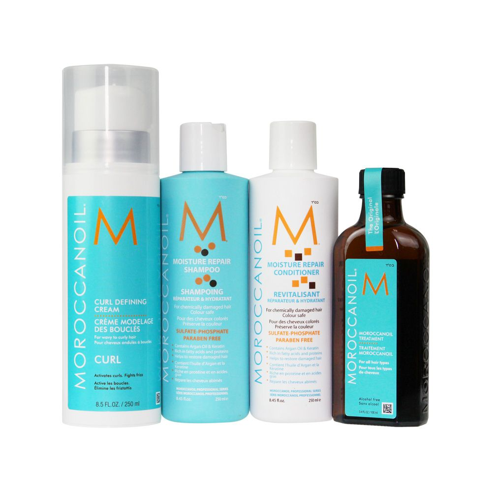 Moroccan Oil Curly Pack Moroccan oil, Moroccan oil hair