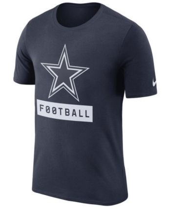 Nike Men s Dallas Cowboys Legend Football Equipment T-Shirt - Blue M ... 6dc45097d