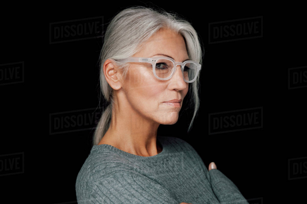best womens glasses for short grey hair  google search