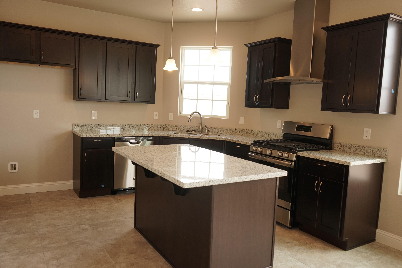 Kitchen Ideas Espresso Cabinets erminia plan kitchen, with custom stainless range hood, gas range