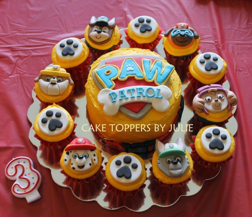25+ Excellent Picture of Paw Patrol Birthday Cake Toppers - albanysinsanity.com
