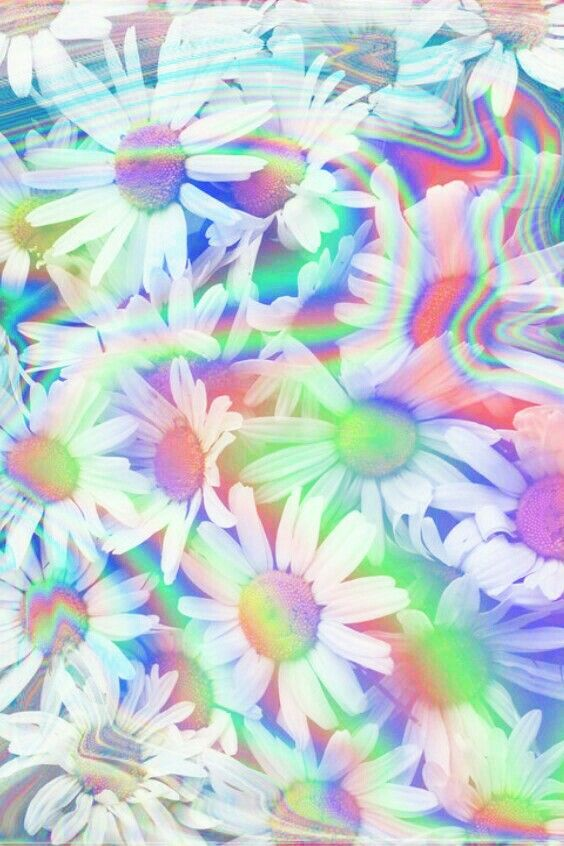 trippy flowers by dixieee normus psychedelic trippy art