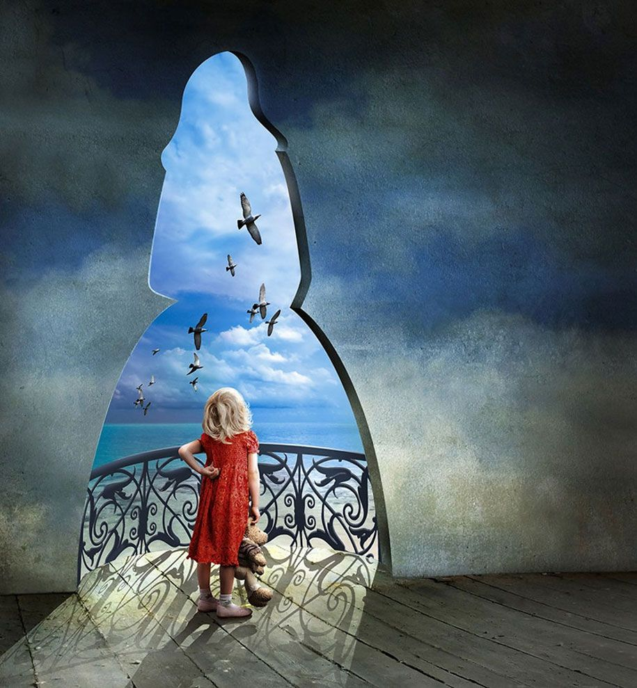 Amazing photo manipulations of the Polish artist