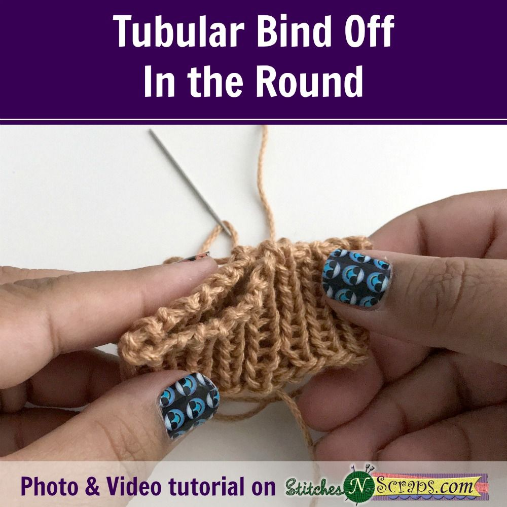 Tubular bind off tutorial on stitchesnscraps knitting tubular bind off tutorial on stitchesnscraps bankloansurffo Images