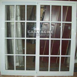Ventanas de aluminio aberturas en aluminio ventana for Ventana aluminio 120x120