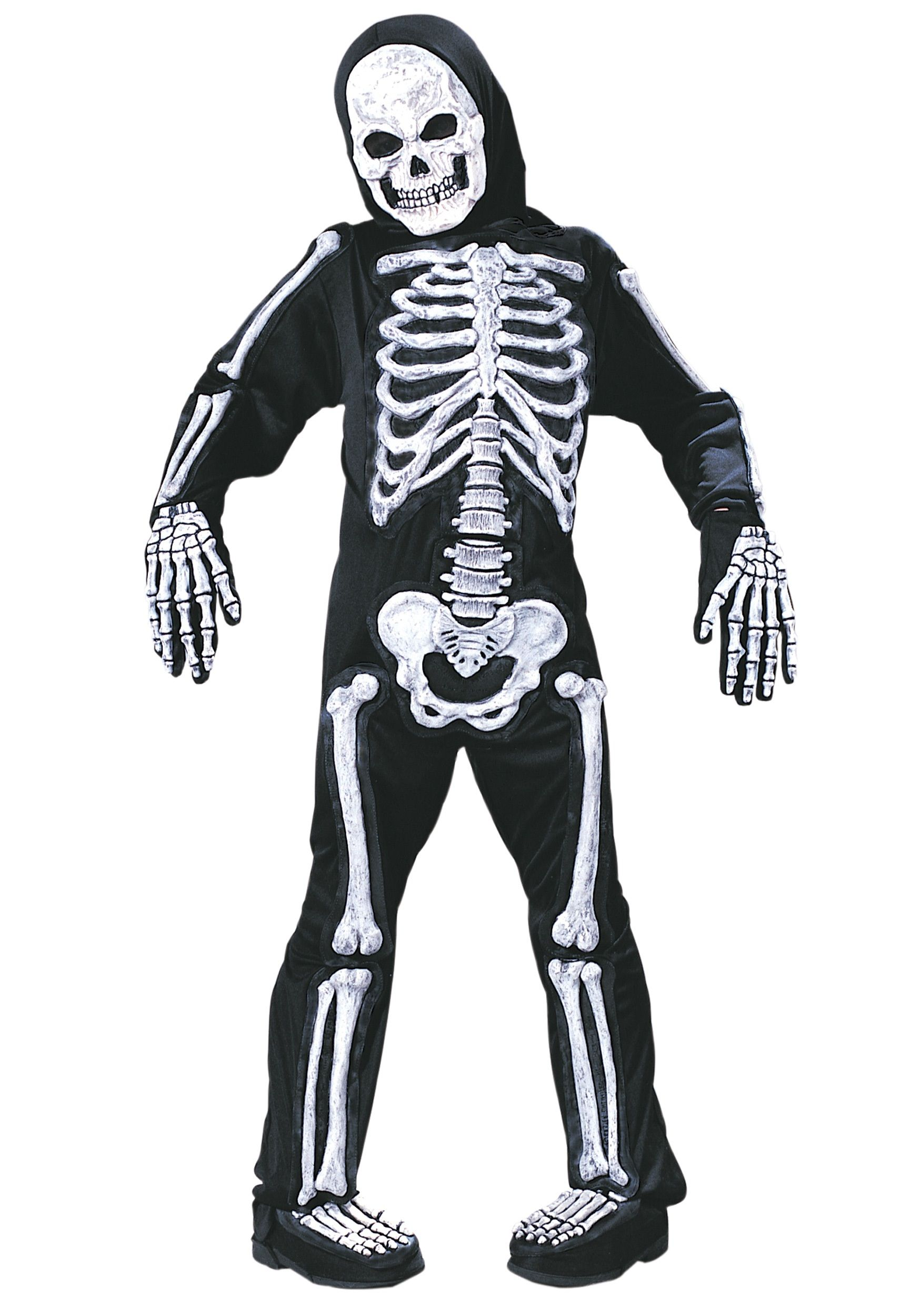 Kids Skeleton Costume | Costumes, Halloween costumes and Boy ...