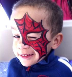 face painting san antonio san antonio spiderman will. Black Bedroom Furniture Sets. Home Design Ideas