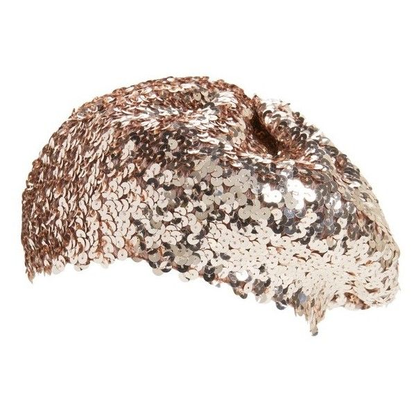 e309cf1e6f02f Women s Evelyn K Sequin Beret ( 26) ❤ liked on Polyvore featuring  accessories