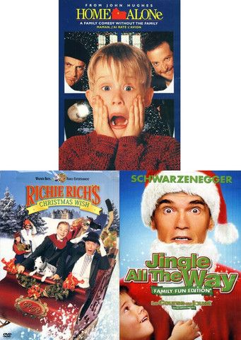 Christmas Pack Home Alone Richie Rich S Christmas Wish Jingle All The Way Boxset Jingle All The Way Christmas Wishes Xmas Movies