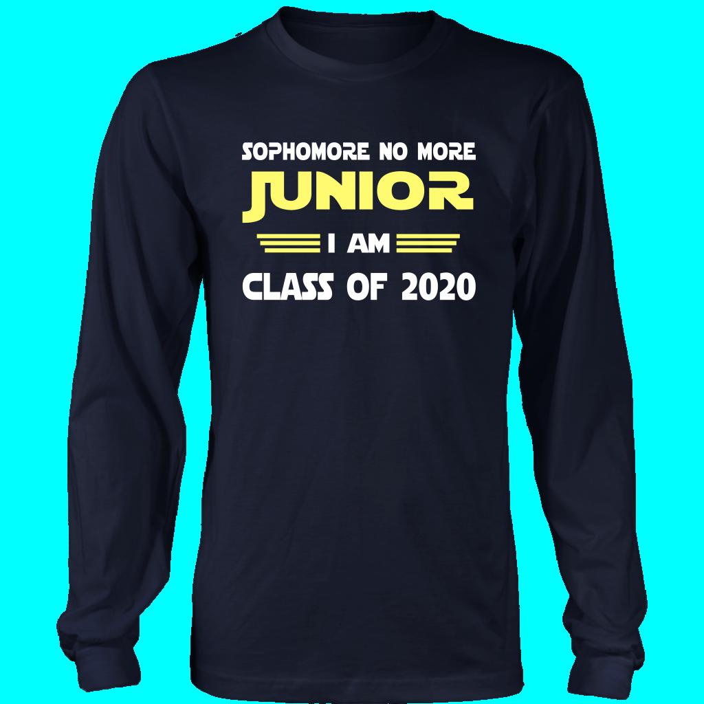2020 Graduation Slogans.Junior I Am Class Of 2020 Slogans T Shirt Design