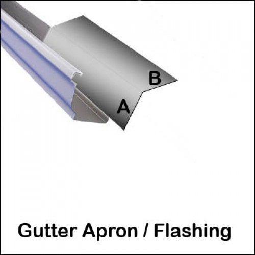 Gutter Apron Flashing Under Deck Shed Pinterest Apron