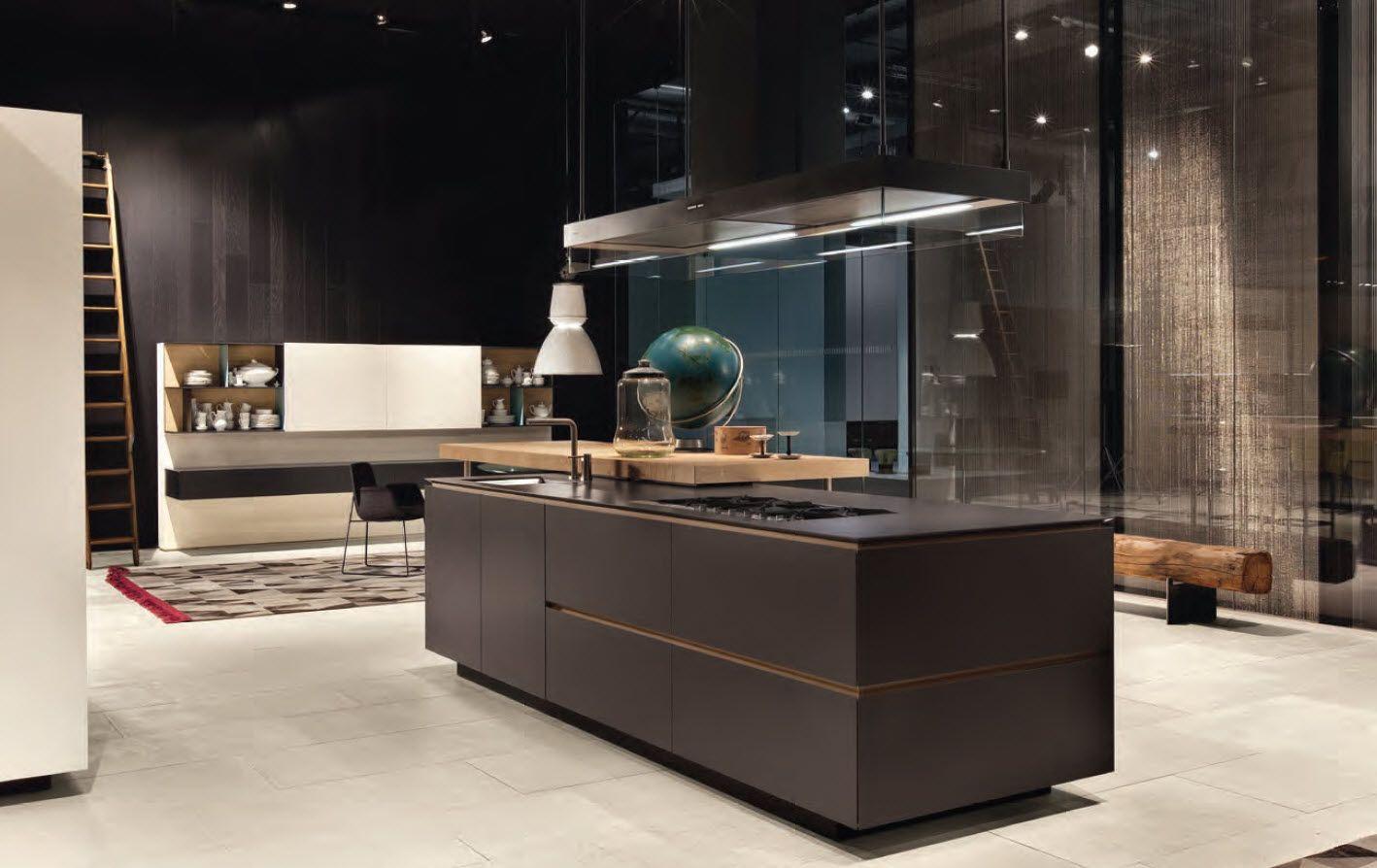 Contemporary kitchen /by Varenna Poliform   Interior   Pinterest ...