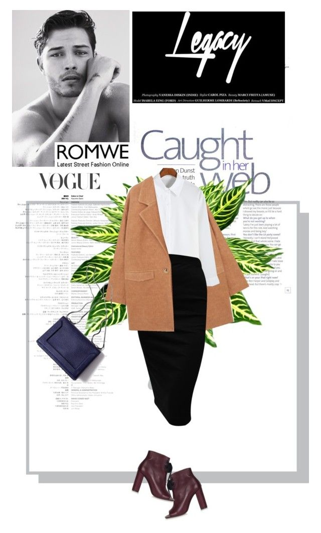 """""""Romwe"""" by flavia-hajna ❤ liked on Polyvore featuring MANGO, 3.1 Phillip Lim, Topshop and romwe"""