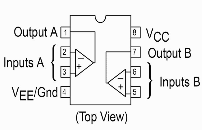 LM358 Pre amplificador de microfone com lm358! circuito