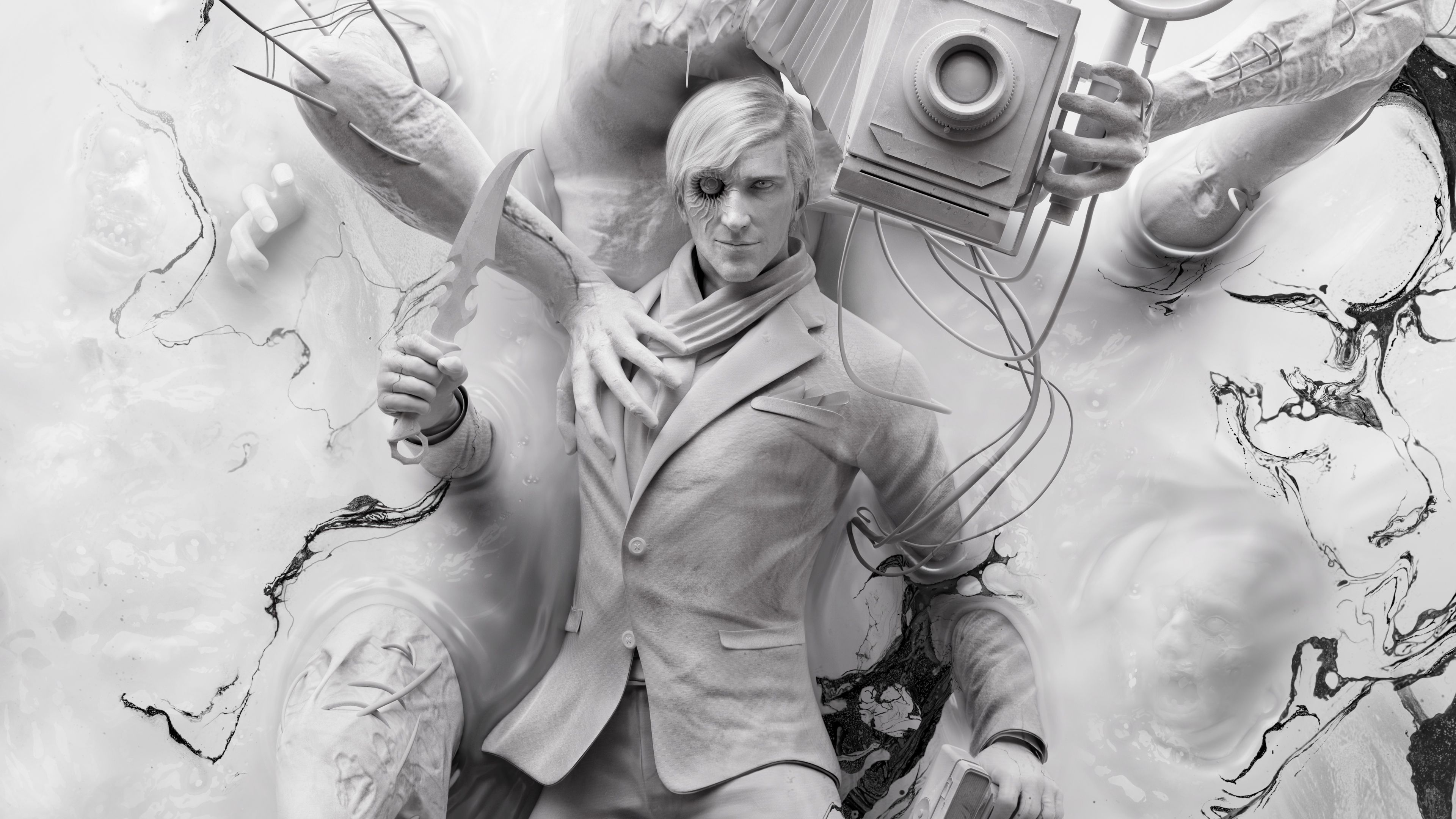 Download Page 4k The Evil Within 2 Stefano And Obscura The