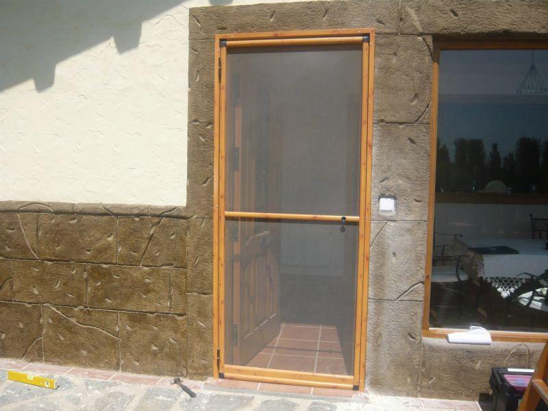 Puertas mosquiteras casa pinterest mosquitero - Mosquiteras para puertas ...