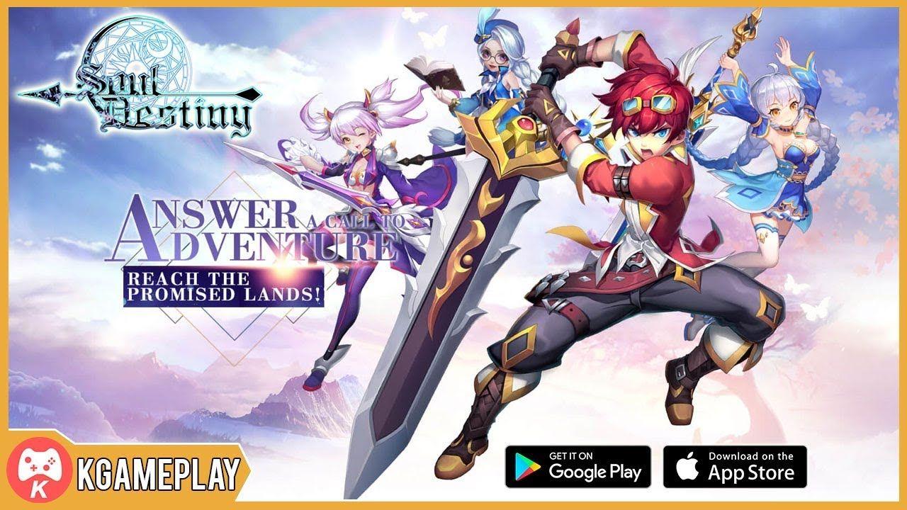 Soul Destiny Gameplay MMORPG iOS Android (Có hình ảnh)