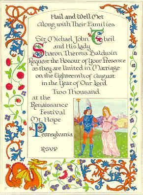 custom wedding invitations for theme weddings renaissance weddings medieval weddings renaissance wedding pinterest brllop - Medieval Wedding Invitations