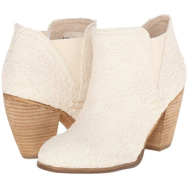 Not Rated Hamilton (Cream) Women's Pull-on Boots ($40) ❤ liked on Polyvore featuring shoes, boots, ankle booties, ankle boots, beige, not rated boots, round toe ankle boots, short boots and pull on boots