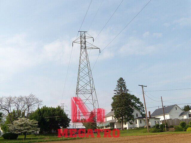 Megatro Design 66kv Single Circuit Tower With Follow Types 1