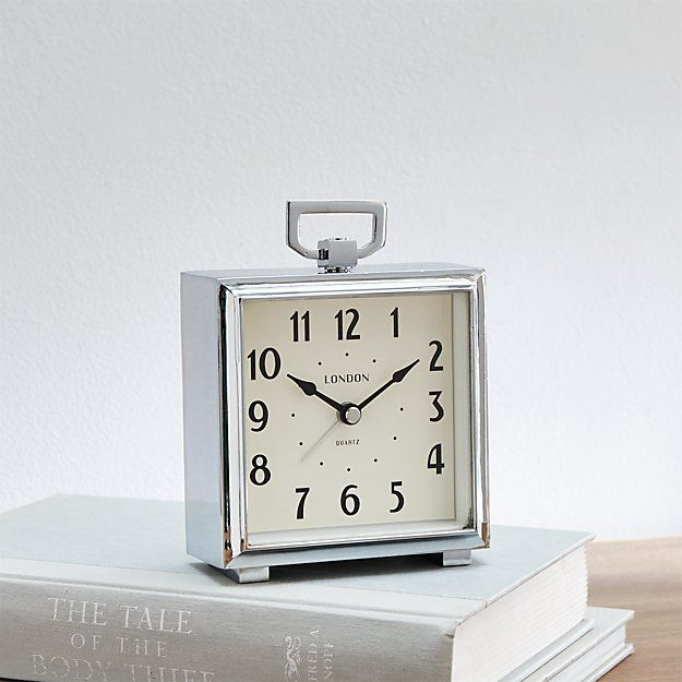 Bedside Alarm Clock Reviews Crate And Barrel With Images