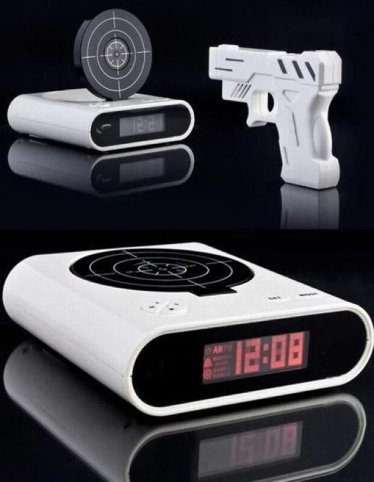 need to get me one of these. #AwesomeAlarmClock