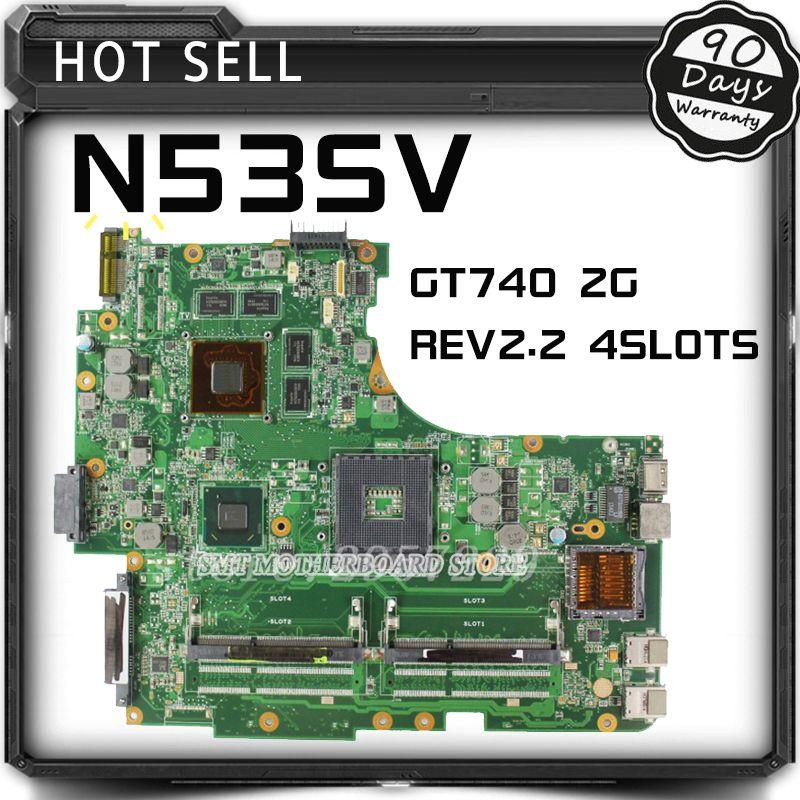 For ASUS N53SV N53SM N53SN Original laptop motherboard