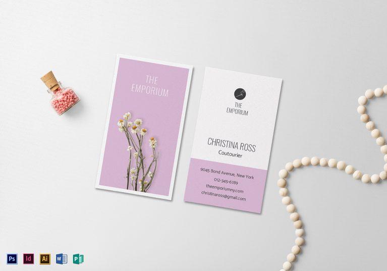Naturalis Business Card Template Business Card Template Card Template Business Card Design