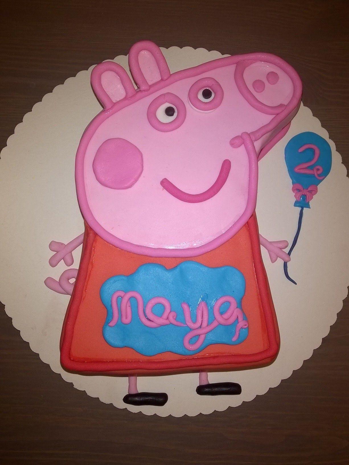 05 Peppa Pig Peppa Wutz Geburtstagstorte Cake Tutorial Buttercreme F Peppa Schwein Kuchen Peppa Wutz Torte Peppa Wutz Kuchen
