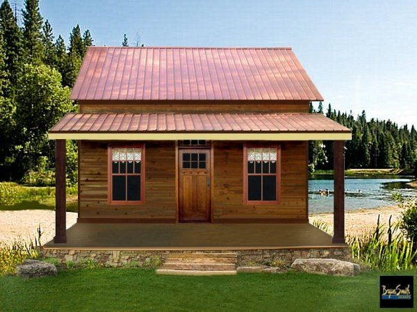 Texas Tiny Homes Plan 750 Small House Plans Farmhouse Plans Tiny House Plans
