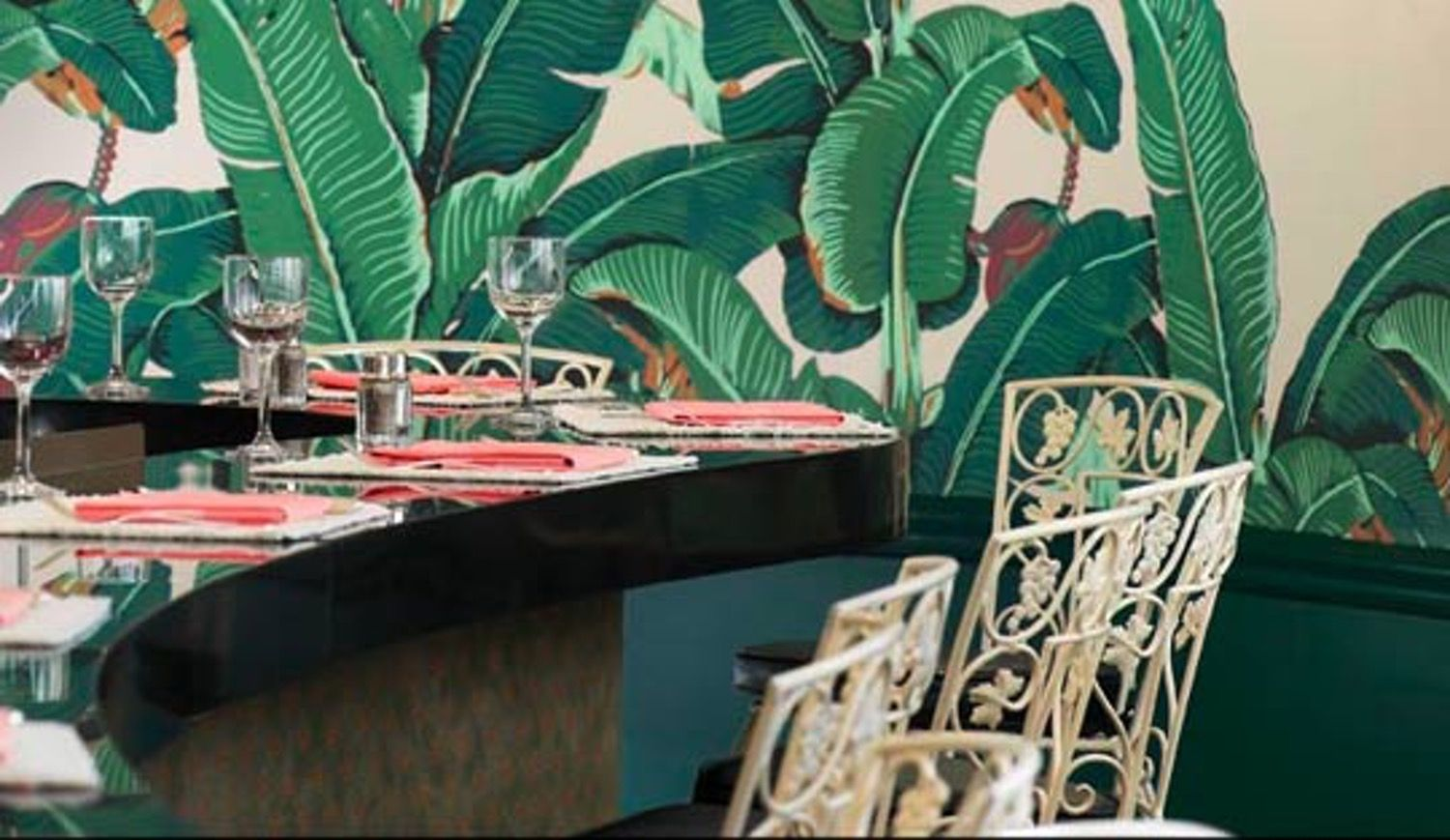 Get The Look Martinique Wallpaper at The Beverly Hills