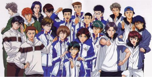 Tenipuri Adiction Prince Of Tennis Anime The Prince Of Tennis Anime Prince