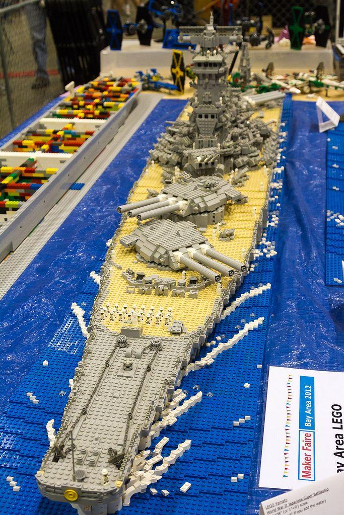 Lego Battleship Lego Ships And On The Water Pinterest Lego