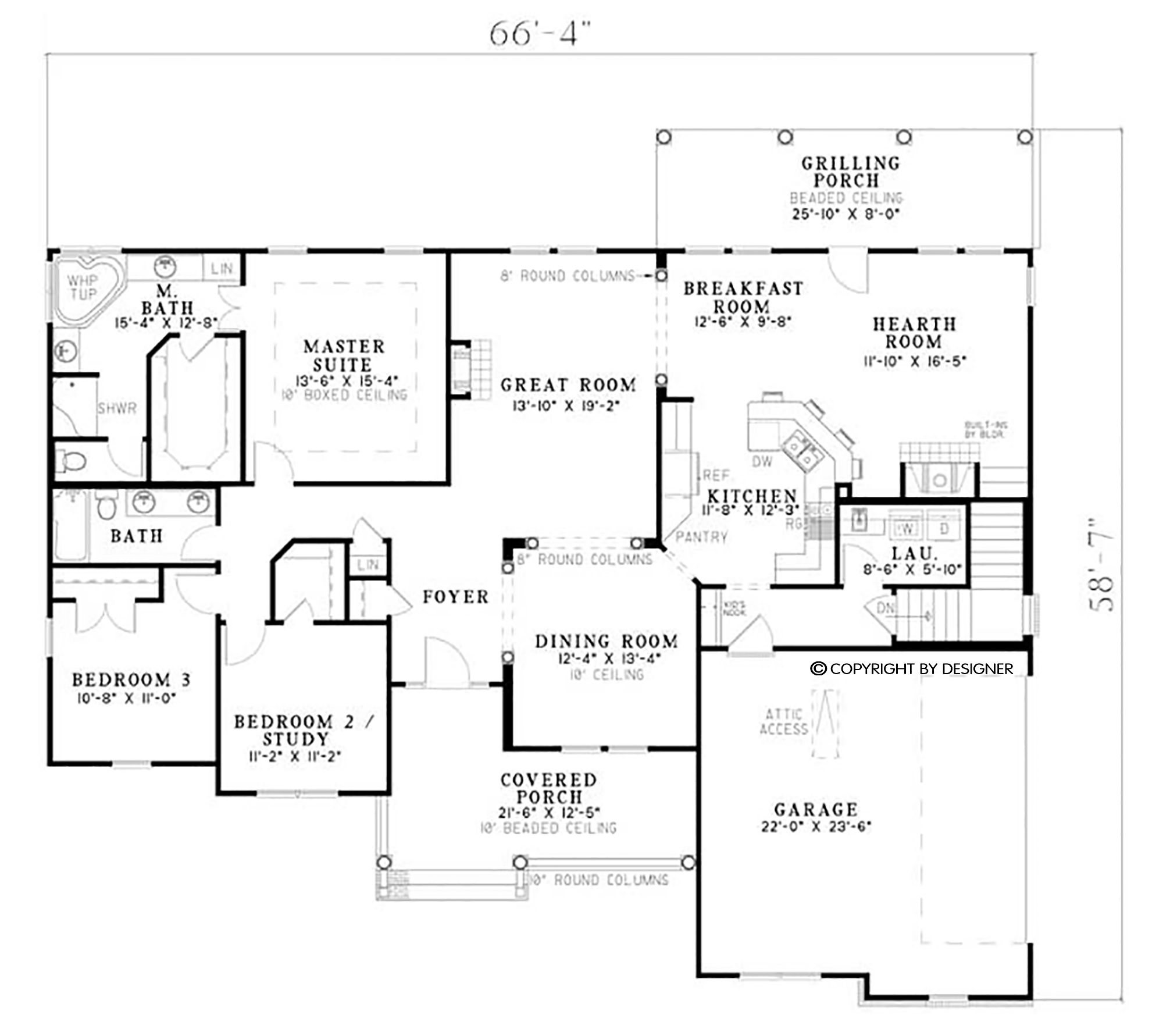 Country house plan with bedrooms our new journey pinterest