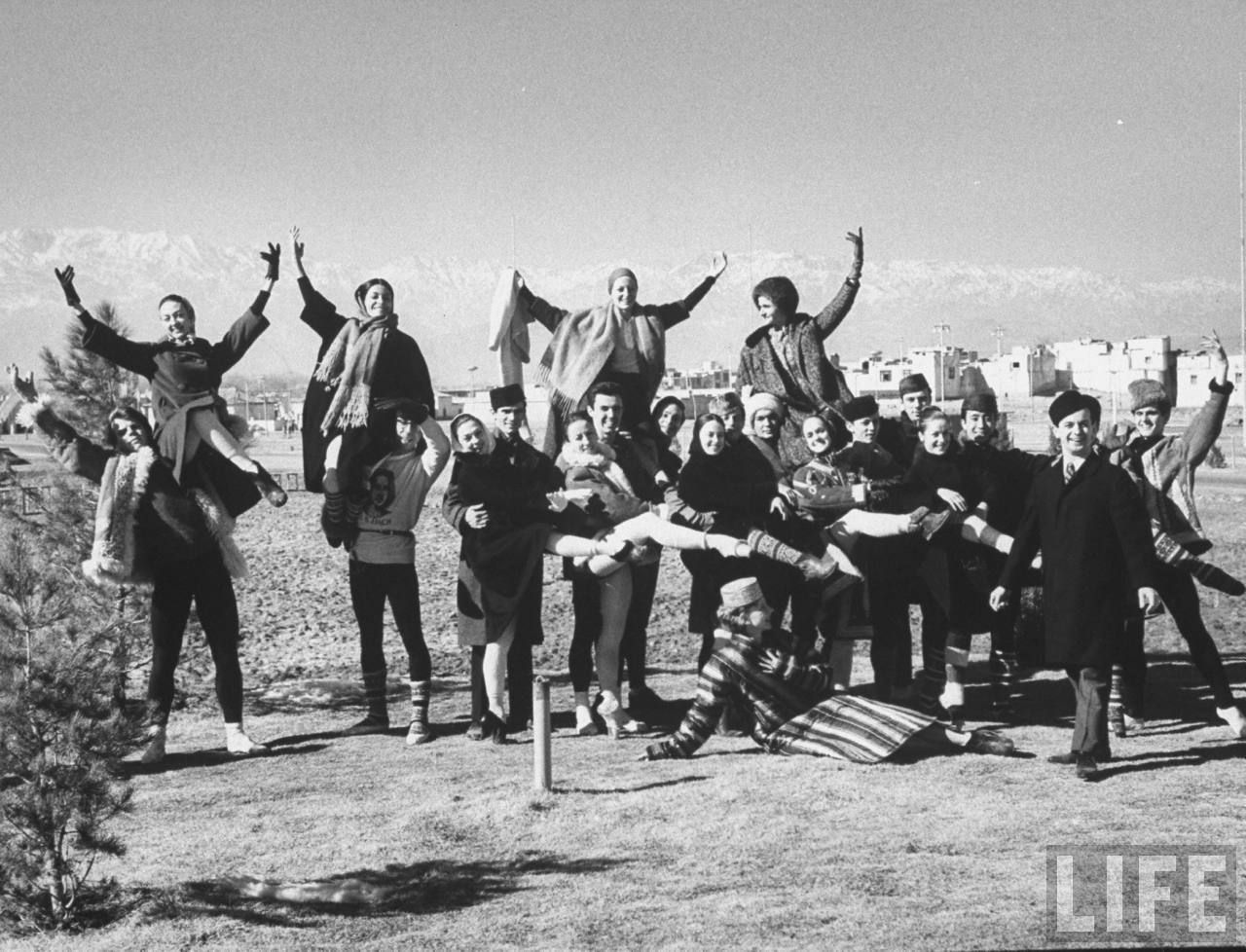In 1963 the joffrey ballet visited kabul afghanistan
