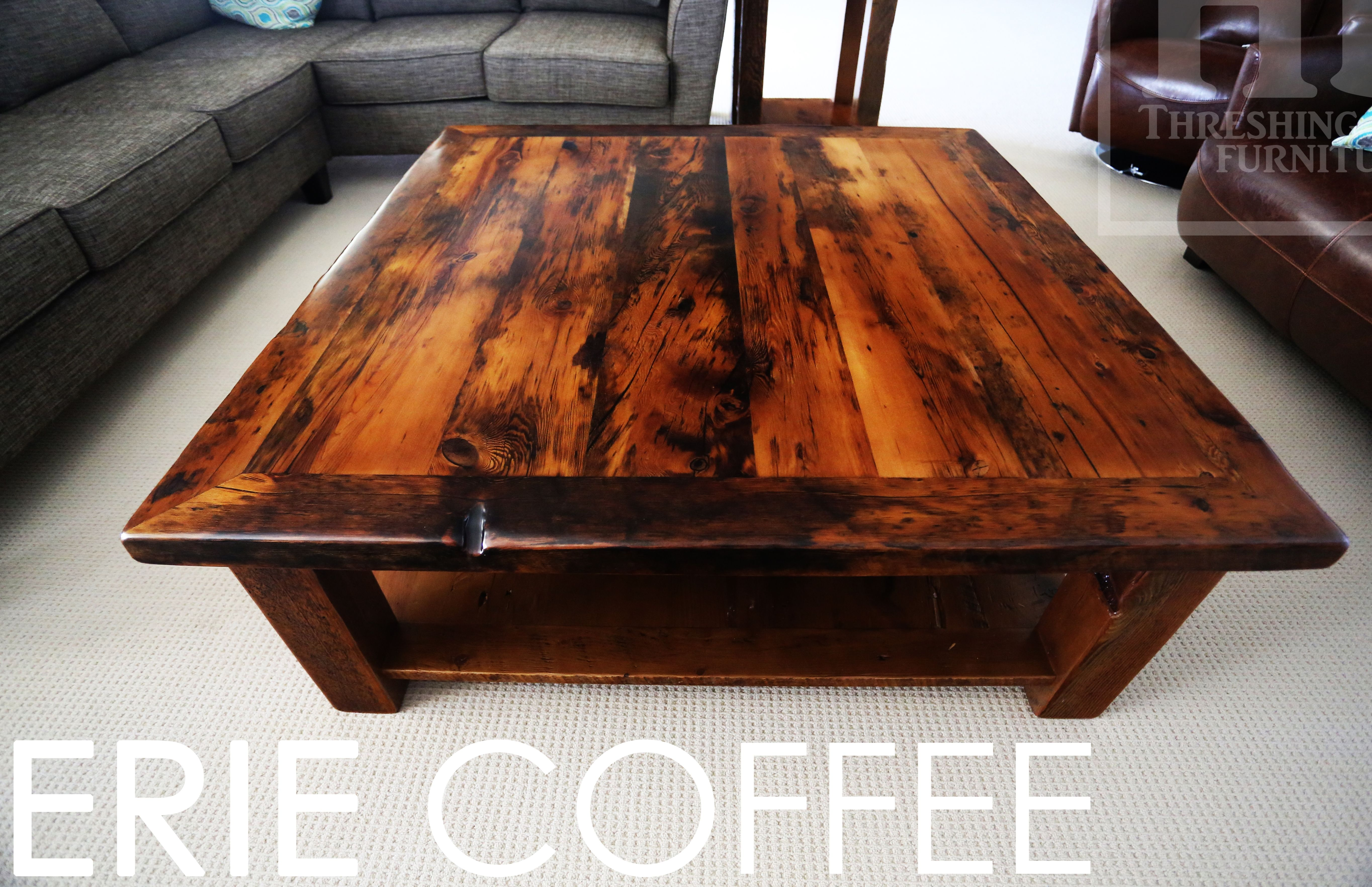 Reclaimed Wood Coffee Table By Hd Threshing Floor Furniture Of Cambridge Ontario Www Hdthreshing Email Directly At Rw Ca