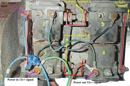 Warn Winch 8274 Wiring Diagram: Warn 1700 Winch Wiring  Wiring