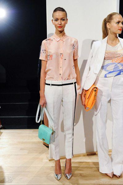 1 Line!  Lined Curve PantsTrend forSpring Summer 2013  #fashion #trends  J.Crew Spring Summer 2013