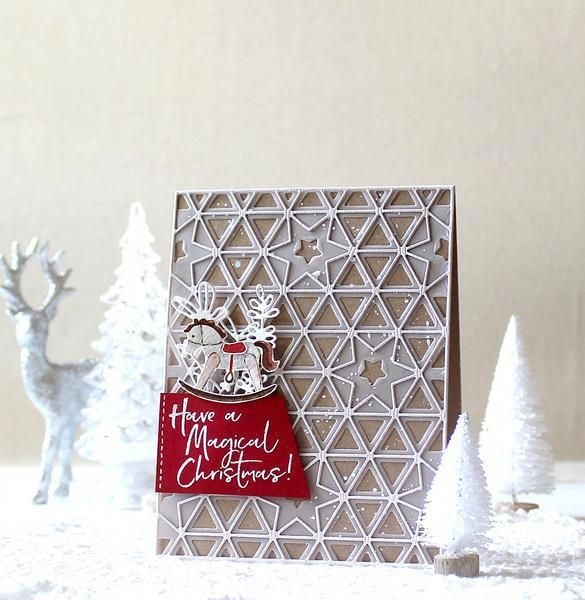 Christmas On Honeysuckle Lane #christmascardshandmadewatercolor | Christmas cards handmade ...