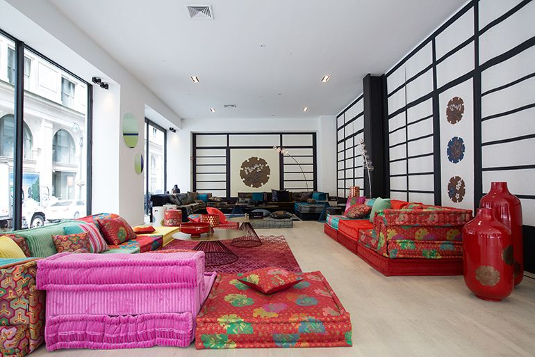10 Questions With Kenzo Takada Modern Modular Sofas Modular Sofa Interior Design