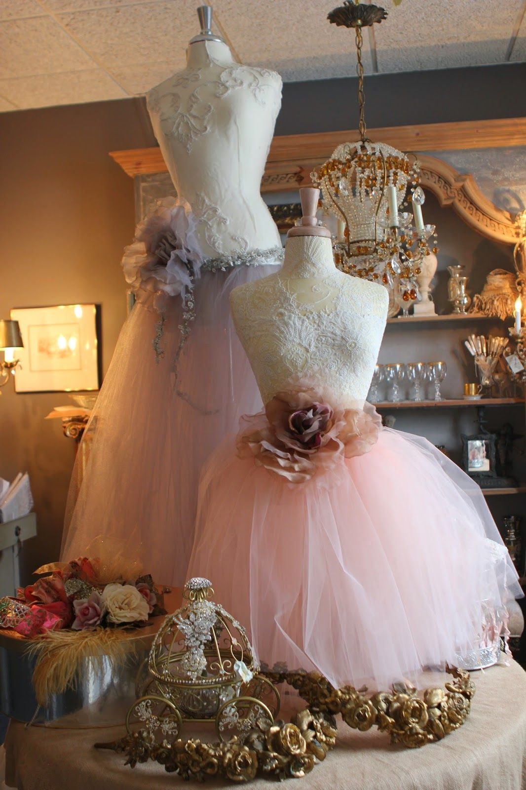 Romancing the home tiaras and tutus pop up sale manequin and