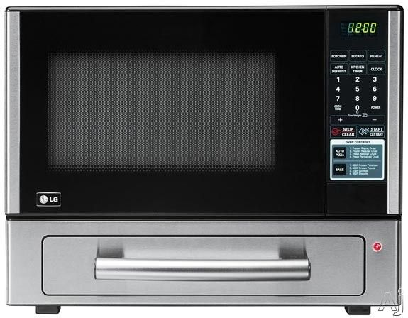 Lg Lcsp1110st 1 1 Cu Ft Combination Countertop Microwave