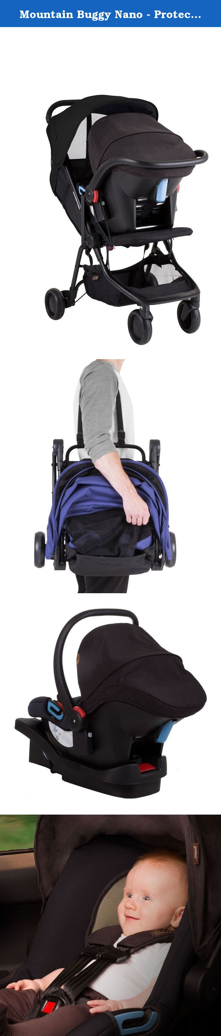 Mountain Buggy Nano Protect Travel System, Black