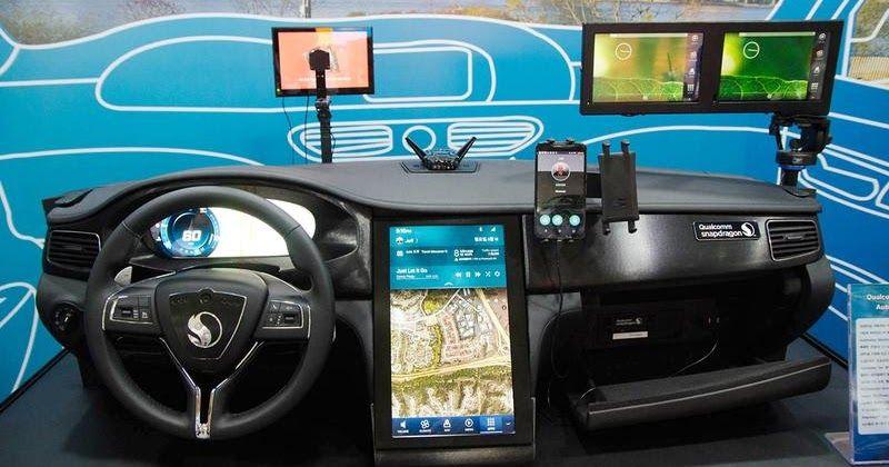 Untitled volkswagen transporter van self driving