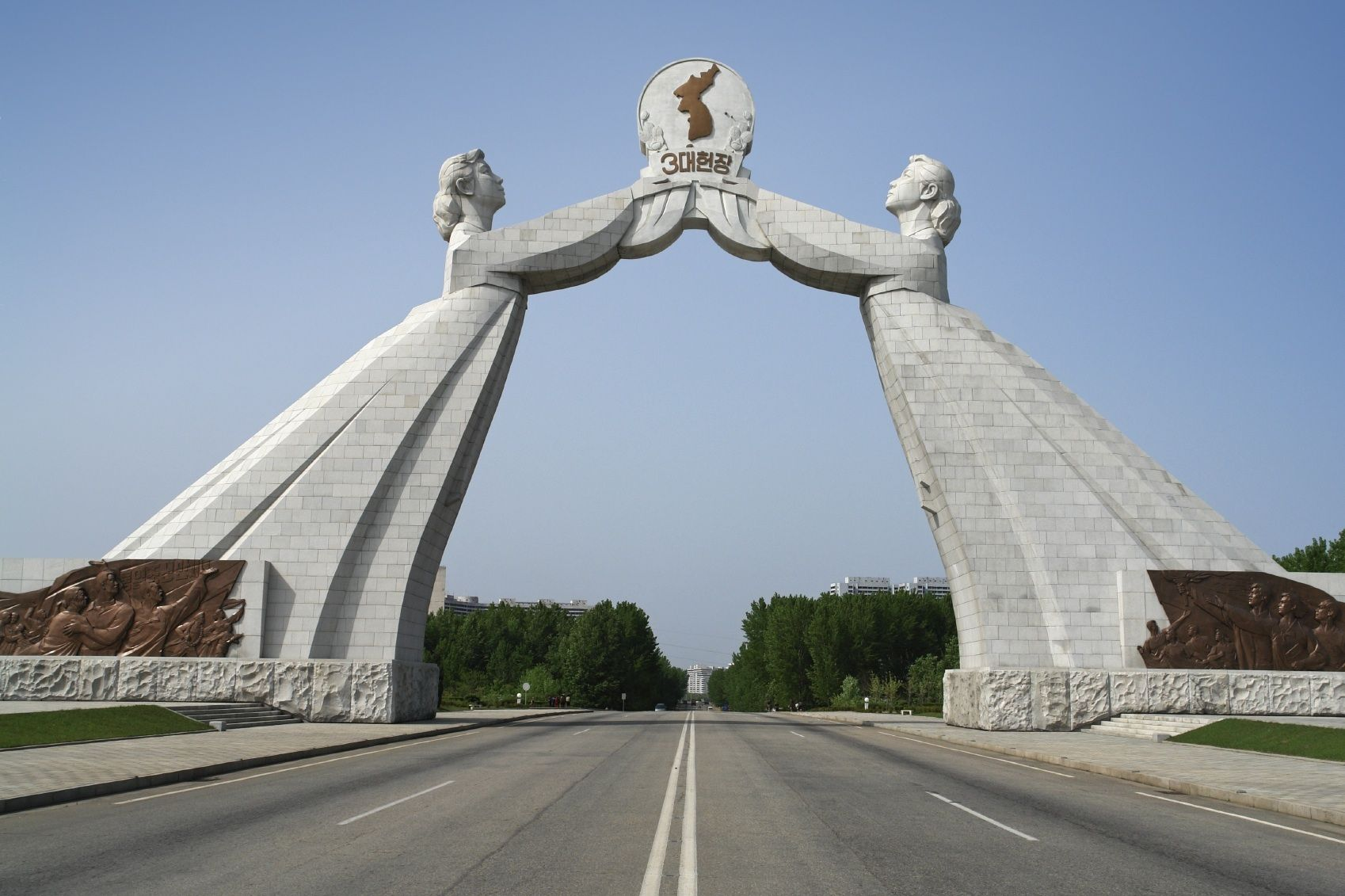North Korea In Asia Sightseeing And Landmarks Thousand