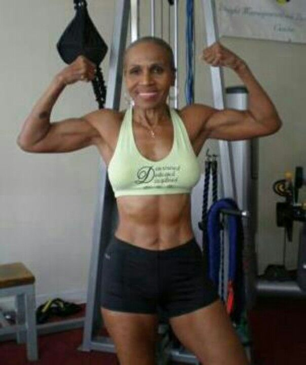She S Over 70 Wow What Could You Do To Be Healthier If You Need A Little Help To Get Workout Routines For Women Best Workout Routine Body Building Women
