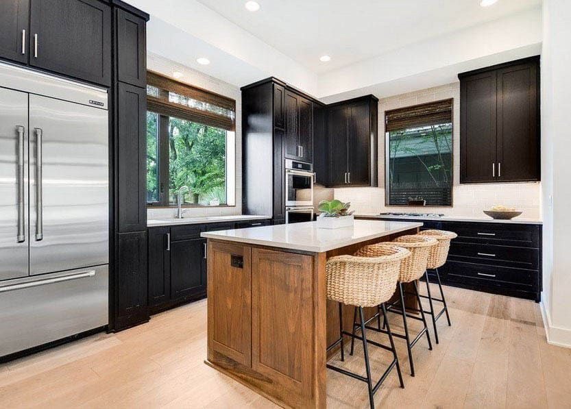 L Shaped Kitchen With Island Design Ideas Kitchen Island Placement L Shaped Kitchen L Shaped Kitchen Cabinets