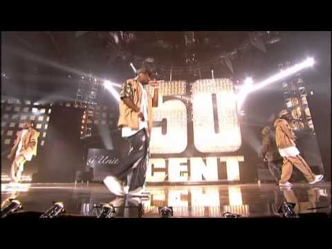 50 Cent In Da Club Mtv Version 50 Cent Performs In Da Club Live Brit Awards 2004 Youtube Youtube In Da Club Brit Awards