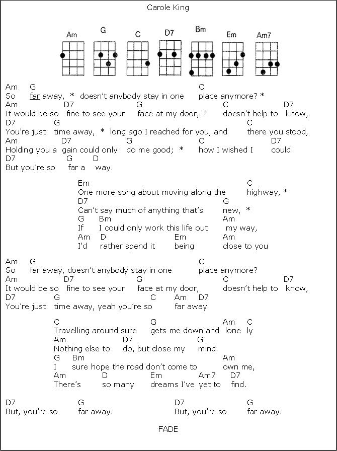 So Far Away Tips For Ukulele Playing Pinterest Ukulele Guitar